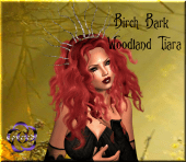 TTS Birch Bark Woodland Tiara